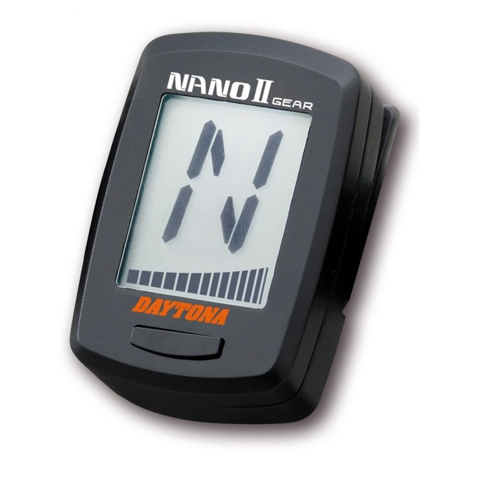 indicateur de vitesse engag e daytona nano ii ldw1546 ldmoto. Black Bedroom Furniture Sets. Home Design Ideas