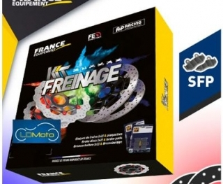 KRSF750 Kit freinage RACING avant + plaquettes SEVEN FIFTY RC42